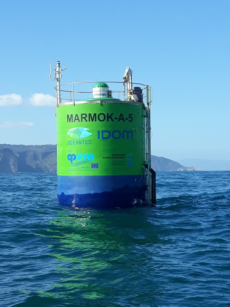 Wave energy converter developed by IDOM-Oceantec