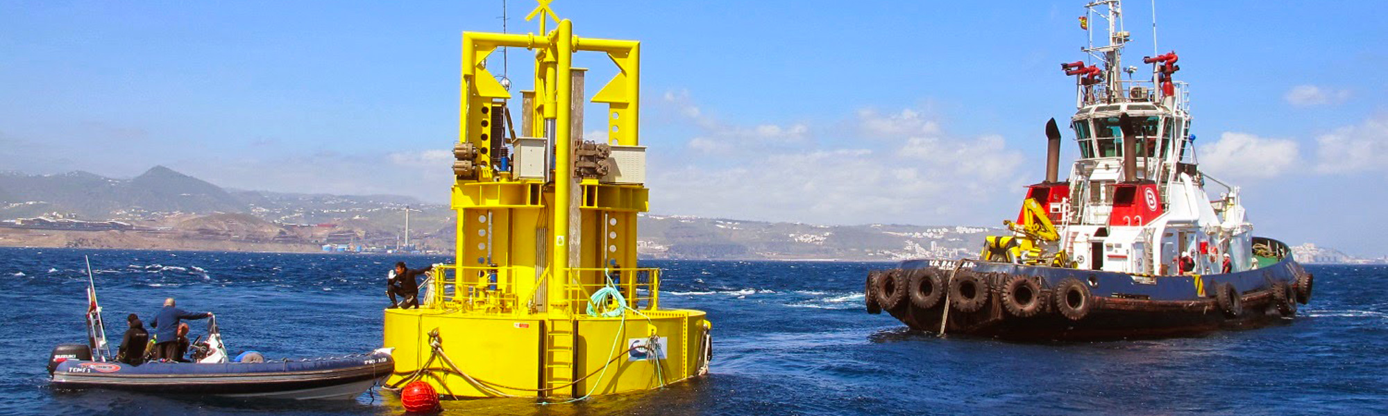 Wave energy converter developed by UNDIGEN project consortium led by Global Wedge