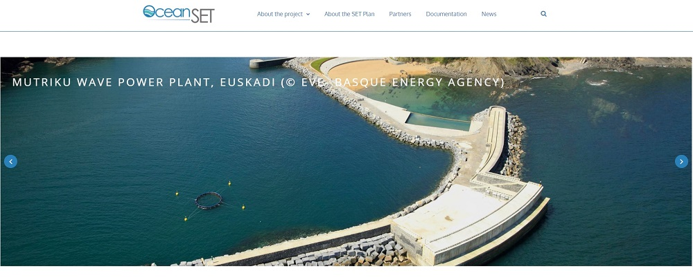 OceanSET website